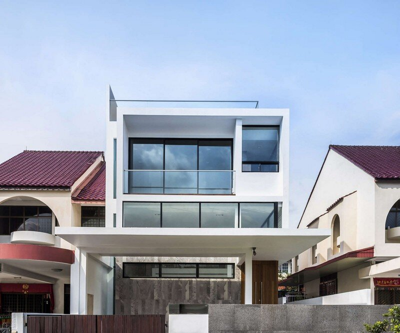 Semi-Detached Home in Singapore by Materium (5)