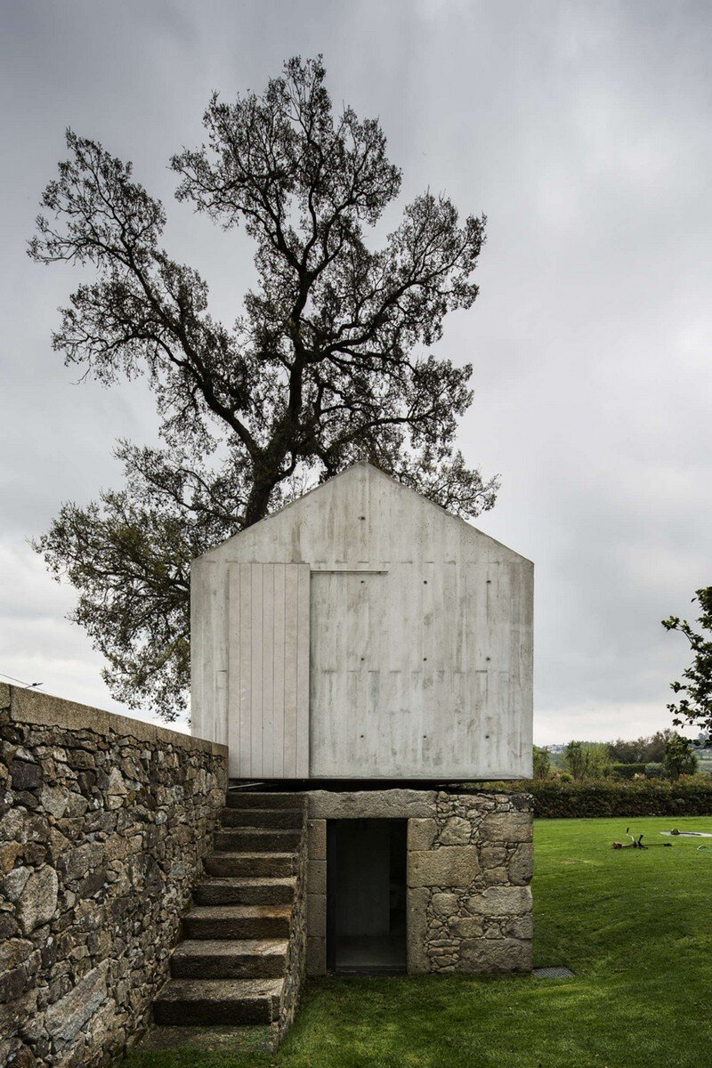 The Dovecote - Conversion of an Old Dovecote into a Play House (15)