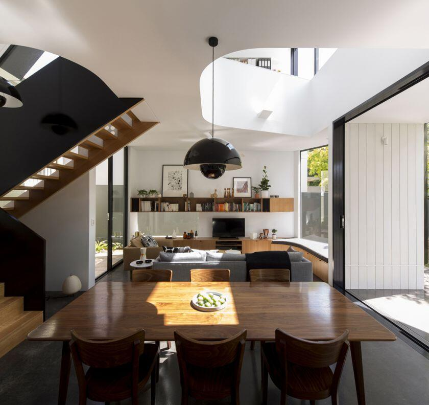 Unfurled House by Christopher Polly Architect (2)