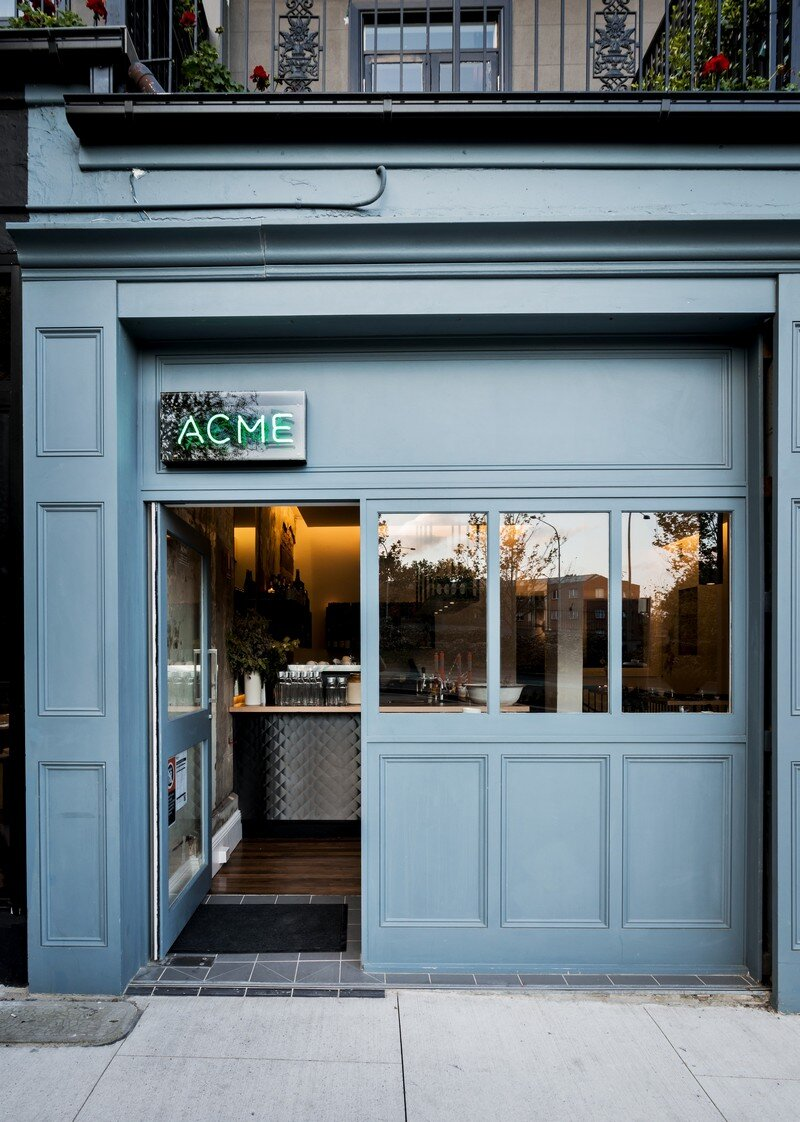 ACME restaurant is a Raw and Intimate Retreat Luchetti Krelle 10
