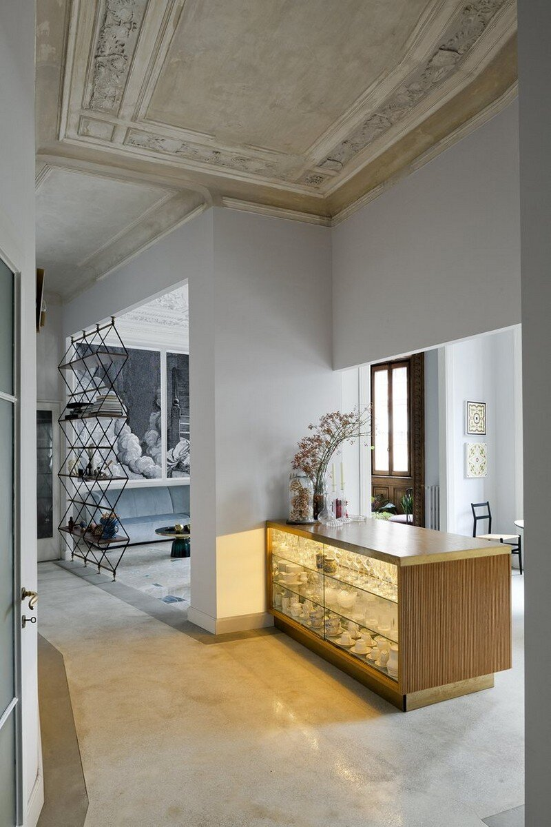 Art Nouveau Style Apartment in Milan Pietro Russo 4