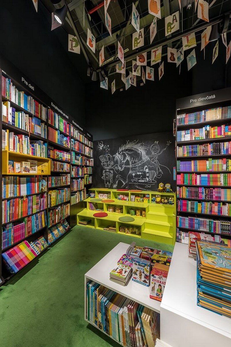 Bookstore and Cafe - Best Place for Meet and Read in Bratislava at26 studio 5