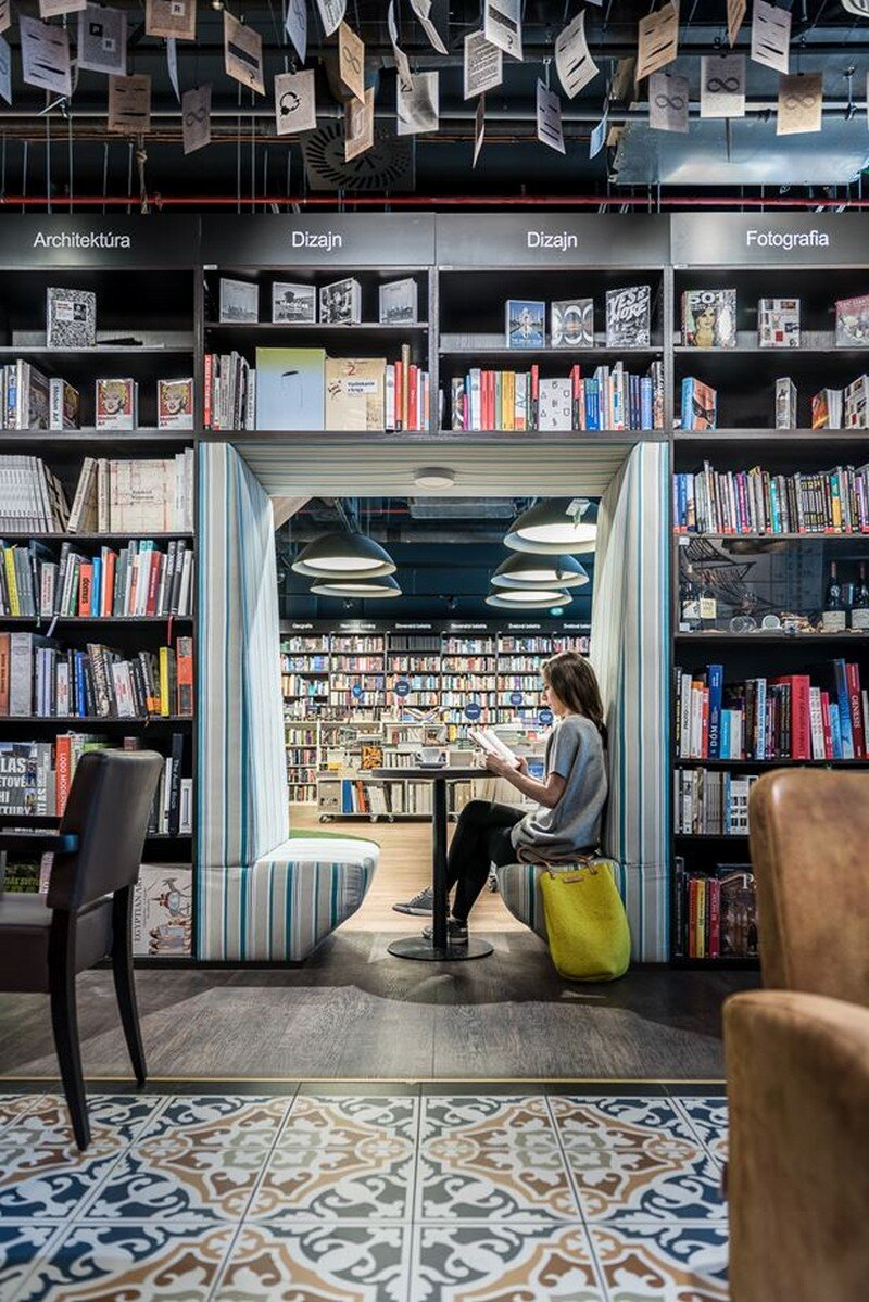 Bookstore and Cafe - Best Place for Meet and Read in Bratislava at26 studio 3