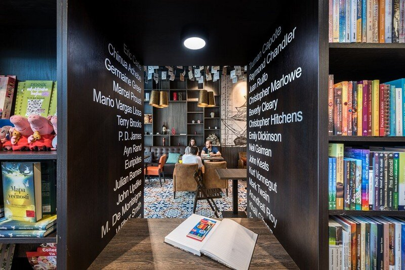 Bookstore and Cafe - Best Place for Meet and Read in Bratislava at26 studio 4