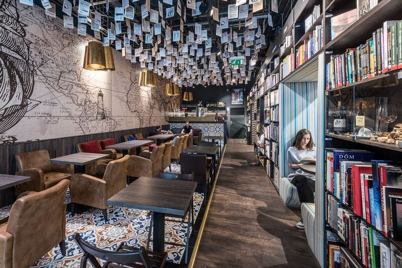 Bookstore and Cafe - Best Place for Meet and Read in Bratislava at26 studio 7