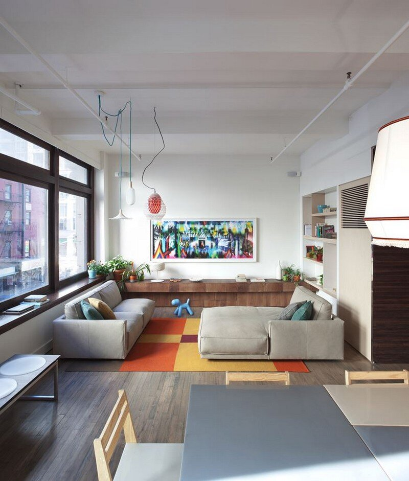 Chelsea 25th Street Loft in New York City Design-Apart (4)