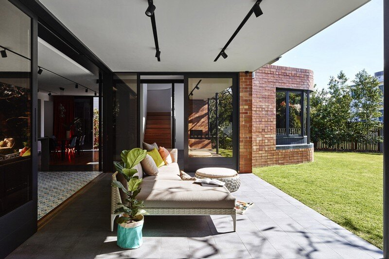 Drury Street House - Renovation and Extension to a Queenslander by Marc and Co Architects