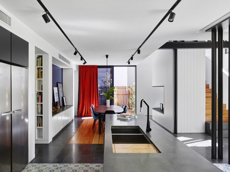 Drury Street House - Renovation and Extension to a Queenslander by Marc and Co Architects 4