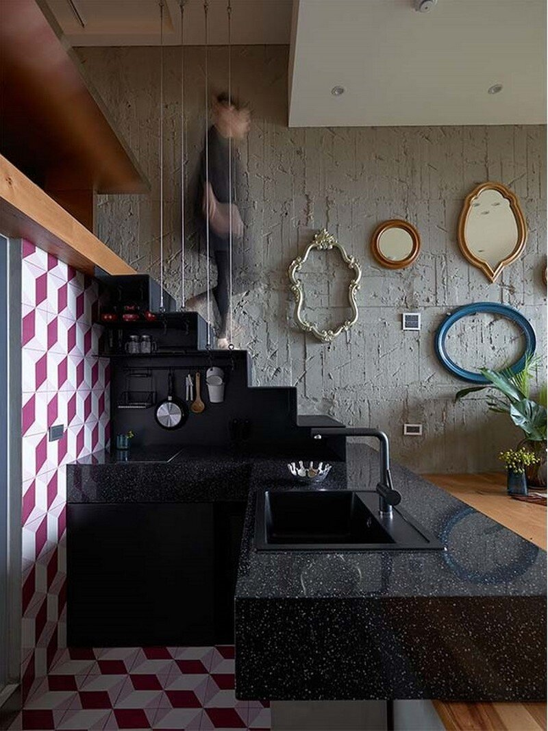 Eclectic House for Two Collectors of Toys Taipei City 11