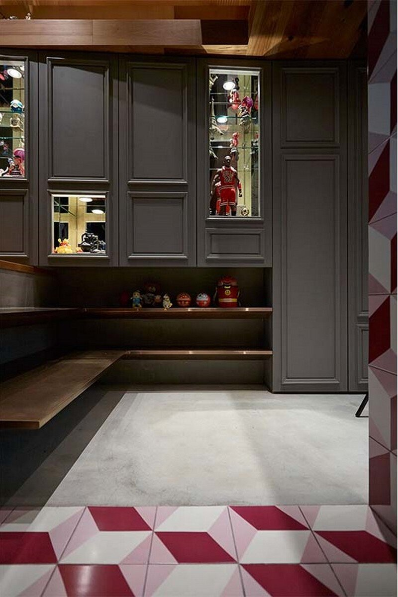 Eclectic House for Two Collectors of Toys Taipei City 12