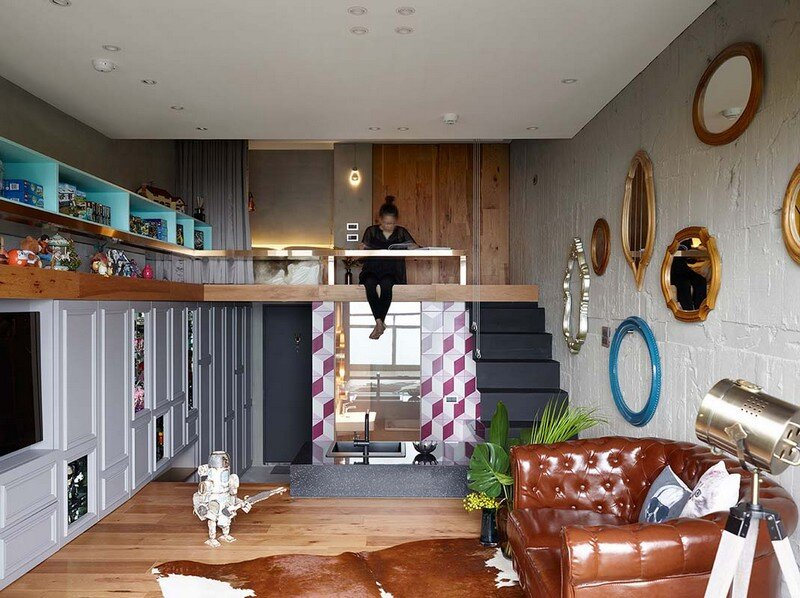 Eclectic House for Two Collectors of Toys Taipei City 3