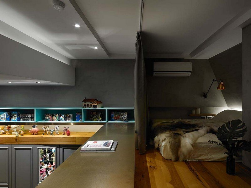 Eclectic House for Two Collectors of Toys Taipei City 6