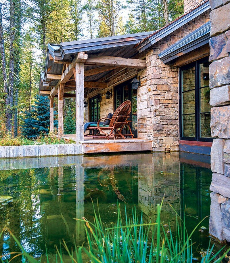 Fishcreek Woods - Tiny Guest Cottage in Jackson, Montana 15