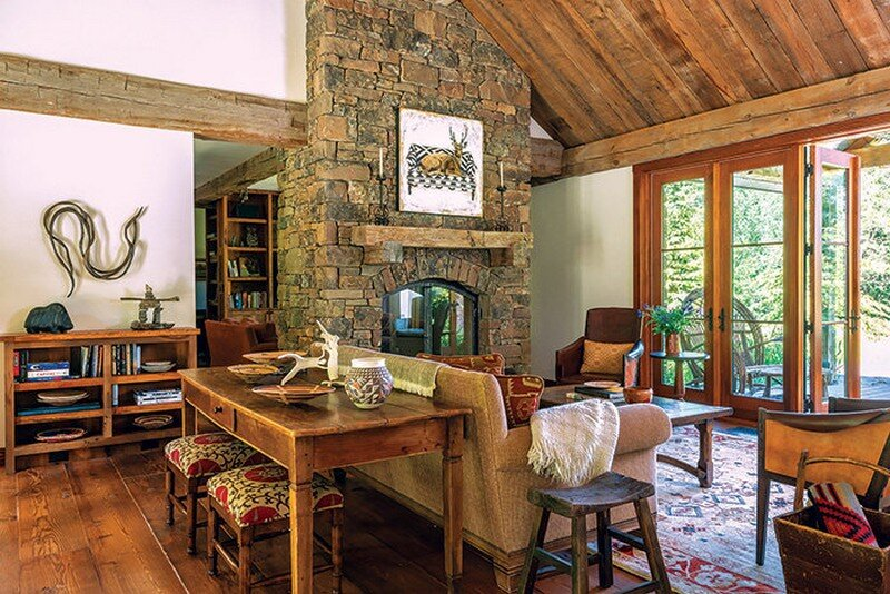 Fishcreek Woods - Tiny Guest Cottage in Jackson, Montana 7