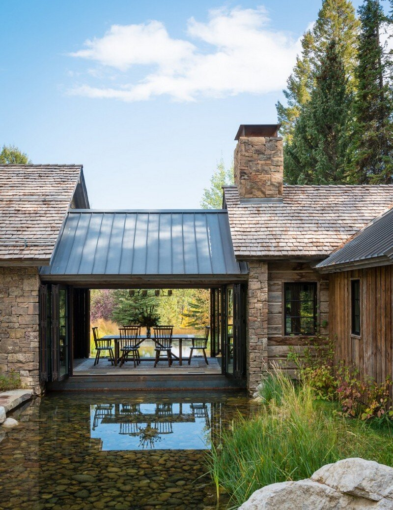 Fishcreek Woods - Tiny Guest Cottage in Jackson, Montana 1