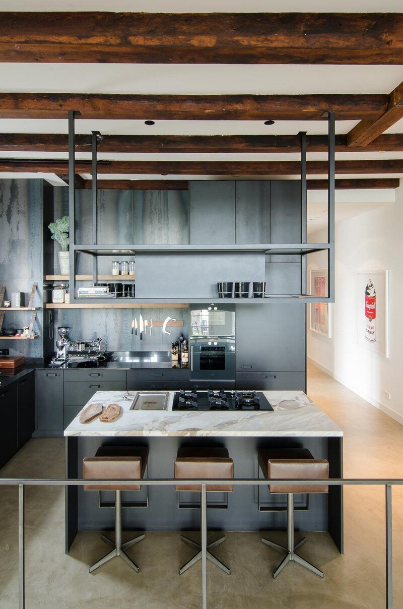 Full Renovation of an Extraordinary Loft for a Young Stock Broker 3
