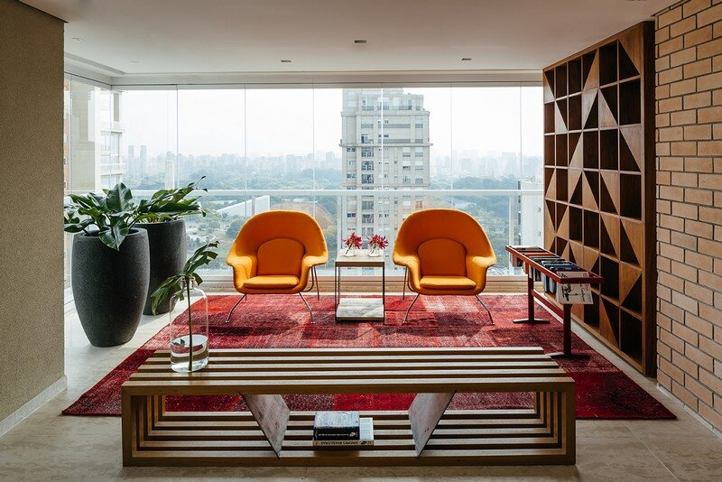 Ibirapuera Apartment - Mix of Contemporary and Brazilian Modern Classics 9