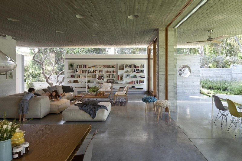 Kedem House in Ramat HaSharon- A House of an Architect (2)