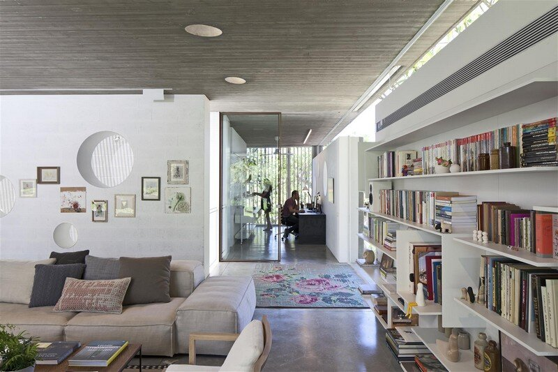 Kedem House in Ramat HaSharon- A House of an Architect (23)