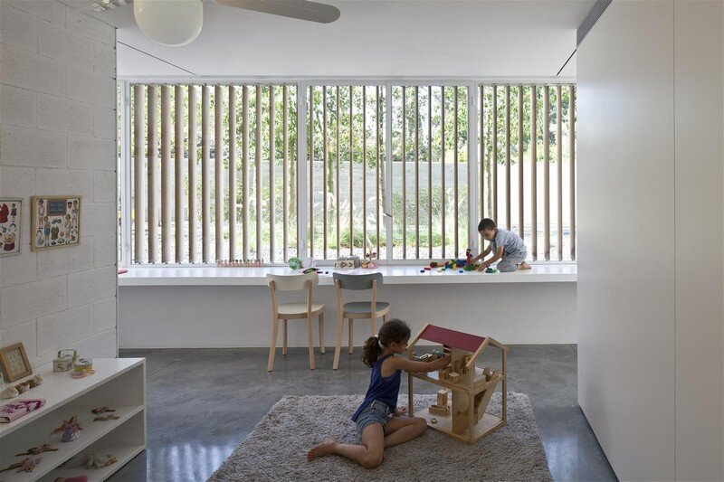 Kedem House in Ramat HaSharon- A House of an Architect (6)