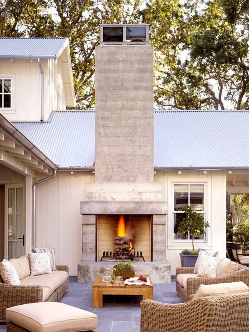Napa Farm House by Stephen Willrich Design 9