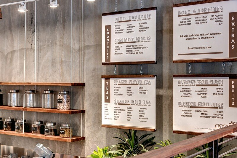 Oasis Tea Zone in Capitol Hill, Seattle Board and Vellum 10