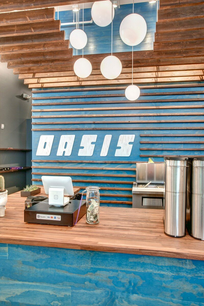 Oasis Tea Zone in Capitol Hill, Seattle Board and Vellum 6