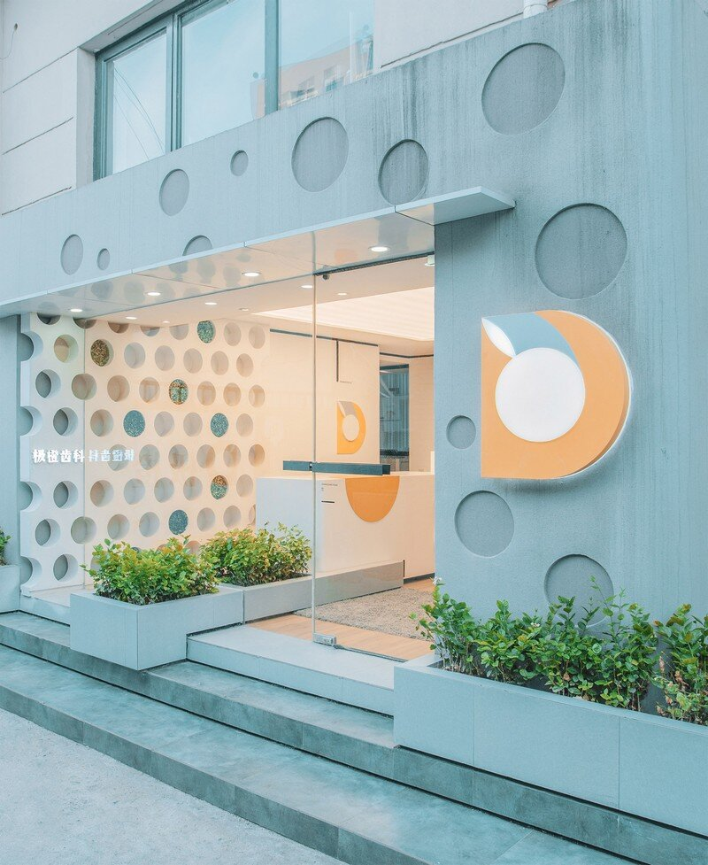 Orange Dental Clinic by RIGI Design Tianjin, China (1)