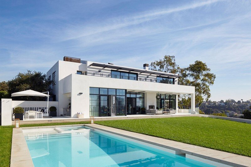 Pacific Palisades Residence in Los Angeles CSS Architecture