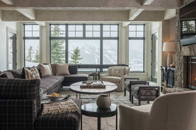 Rustic Mountain House with Zen Interiors - Cashmere Interior