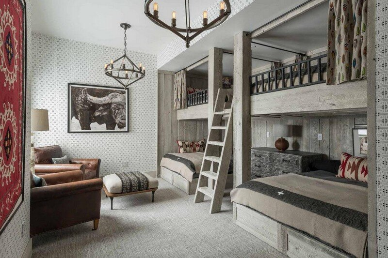Rustic Mountain House with Zen Interiors Cashmere Interior 13