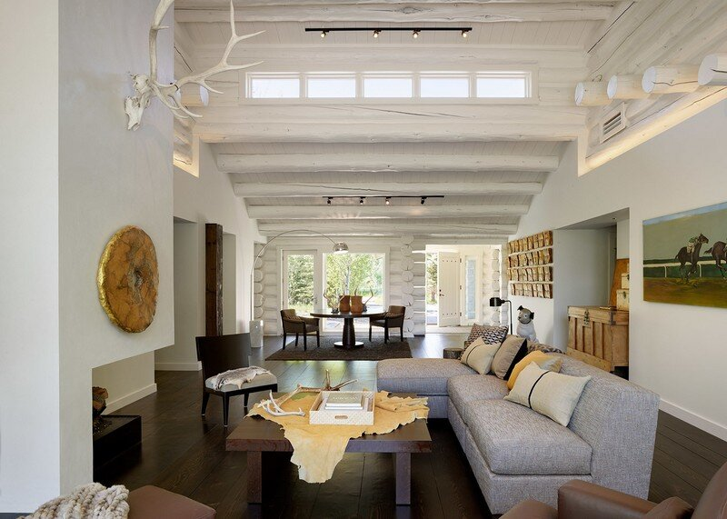 Rustic Retreat Updated with Contemporary Interiors Yellowbell by CLB Architects