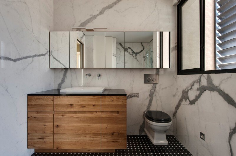 SH House - Modern Town House with a Mix of Design Motives 10