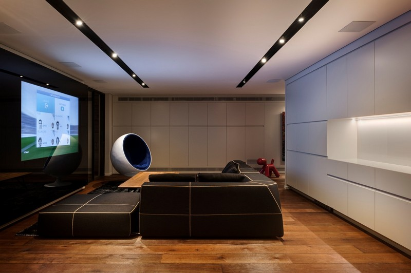 SH House - Modern Town House with a Mix of Design Motives 12