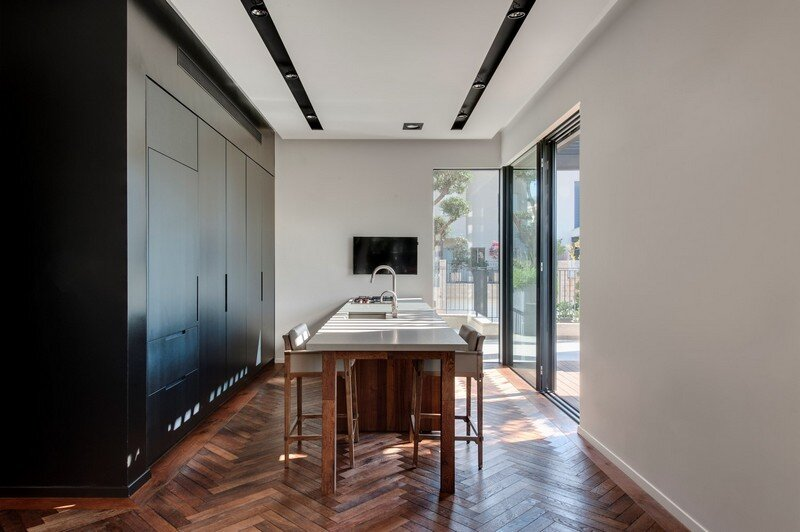 SH House - Modern Town House with a Mix of Design Motives 3