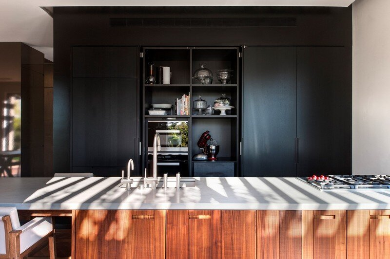 SH House - Modern Town House with a Mix of Design Motives 4