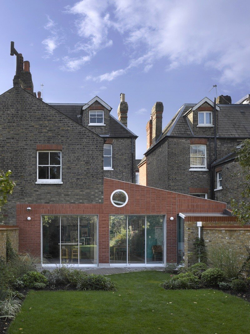 Sanderson House - Extension to a Victorian house in the Form of a Fox