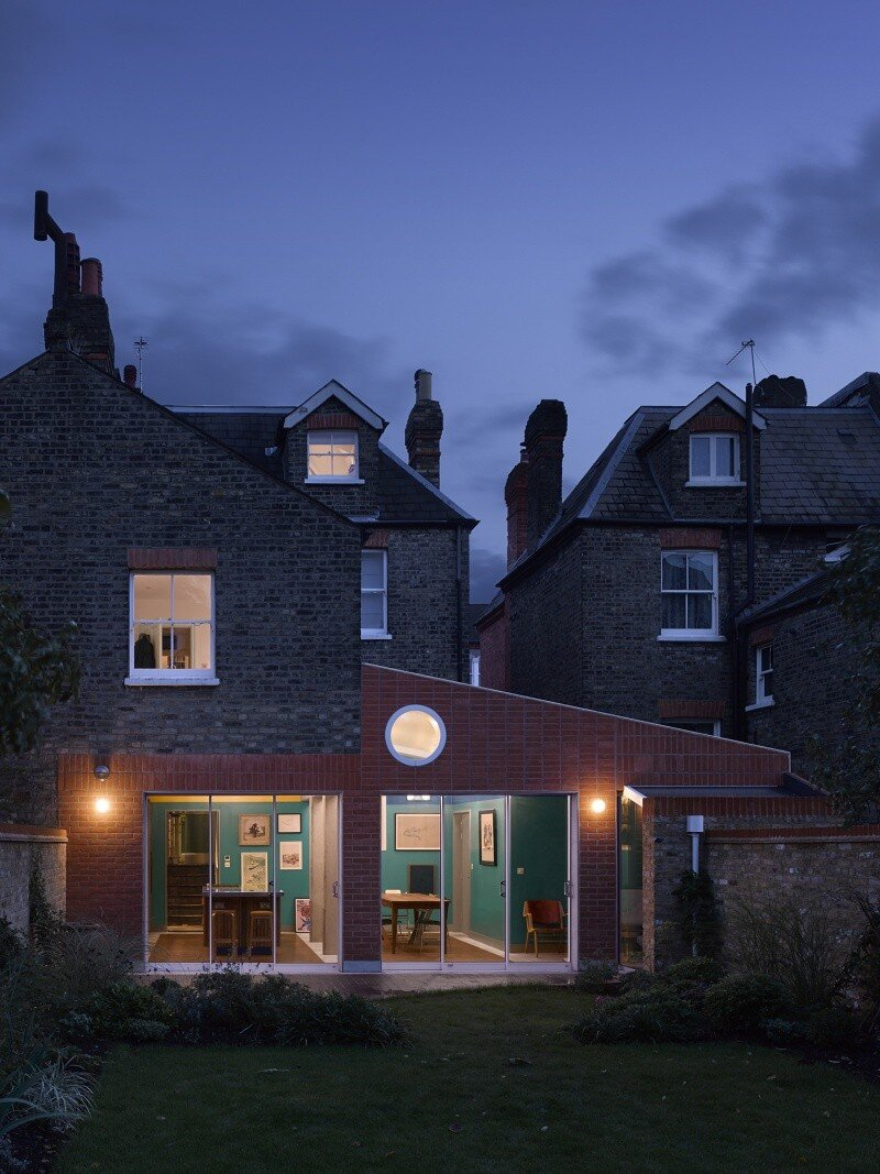 Sanderson House - Extension to a Victorian house in the Form of a Fox 11