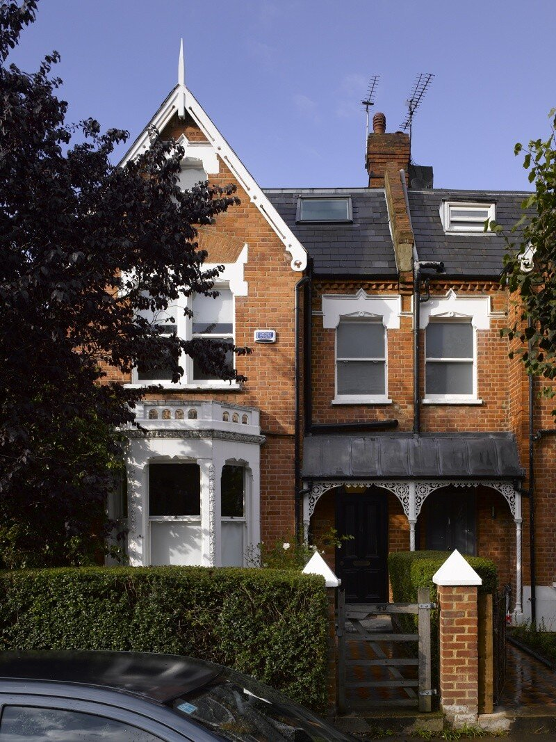 Sanderson House - Extension to a Victorian house in the Form of a Fox 12
