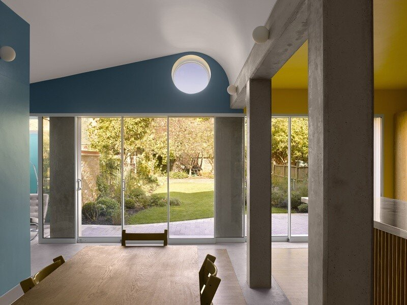 Sanderson House - Extension to a Victorian house in the Form of a Fox 3