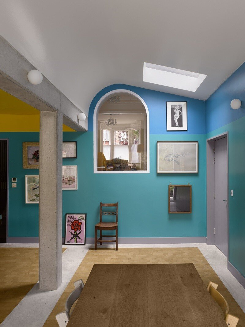 Sanderson House - Extension to a Victorian house in the Form of a Fox 6