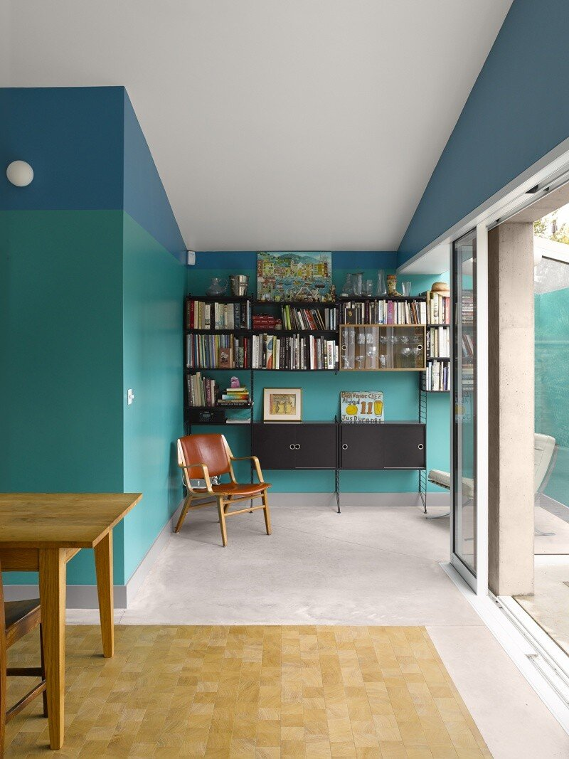 Sanderson House - Extension to a Victorian house in the Form of a Fox 7