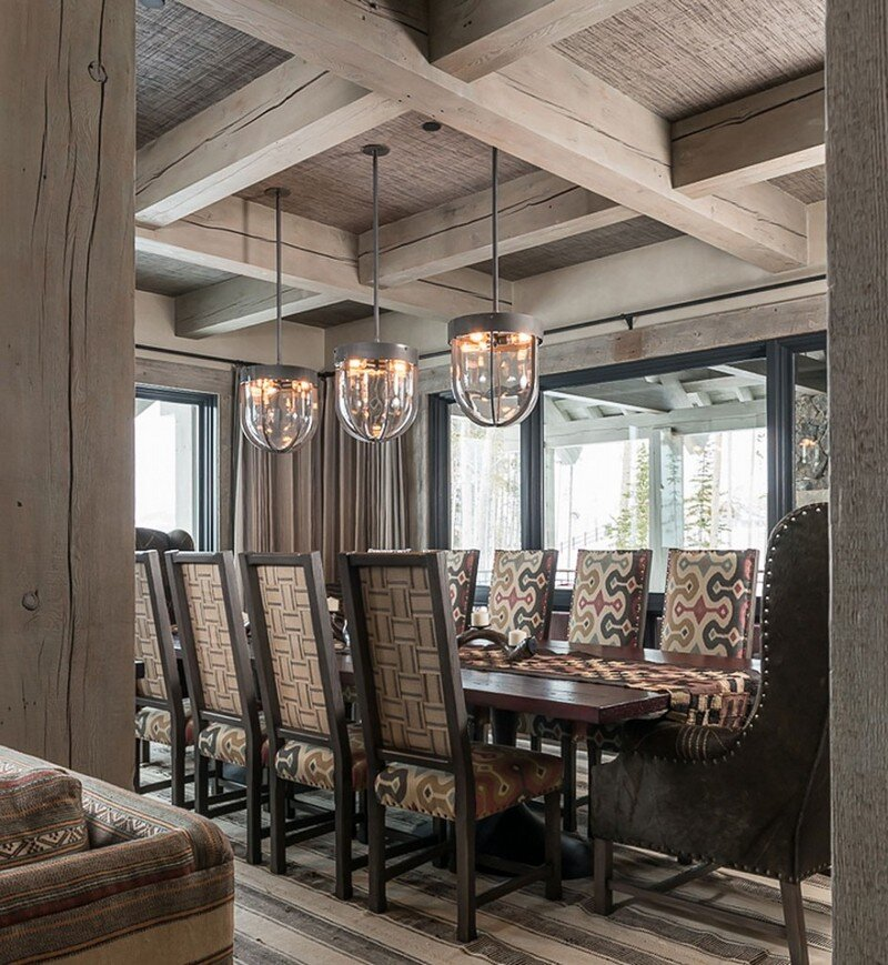 Ski Chalet in the Yellowstone Club - A Grounded Nest at 2700m (3)