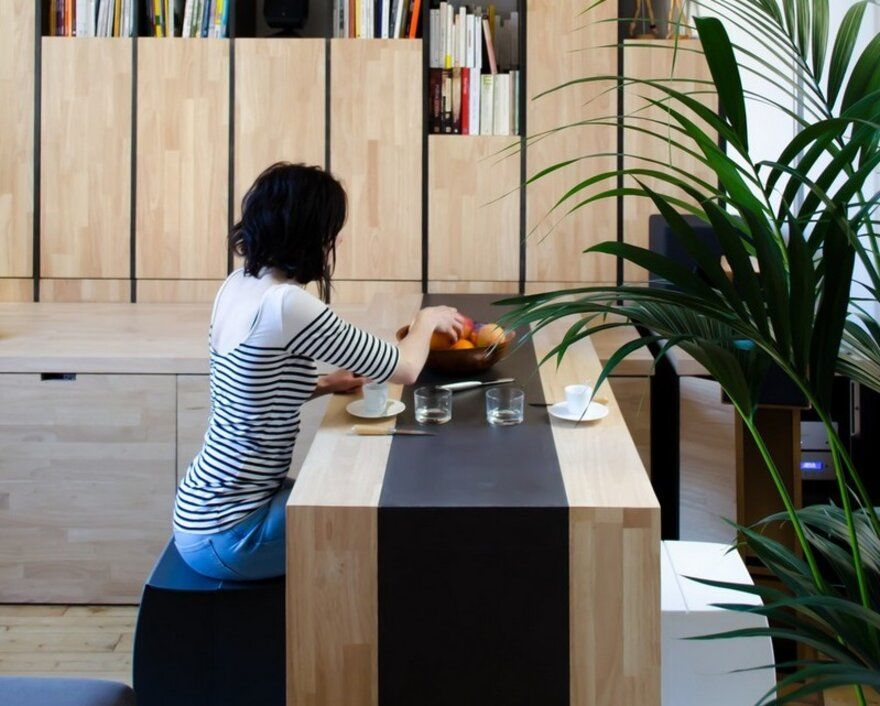 Small-Bordeaux-Apartment-Revealing-a-Good-Space-Distribution