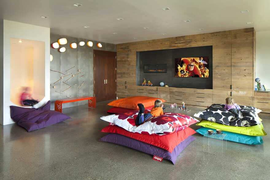 kids room, A Wyoming Getaway Home for a Family of Five