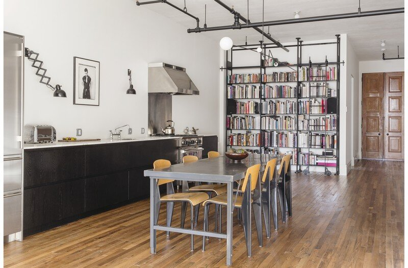 Two-Bedroom Home for a Family of Three / Bond Street Loft