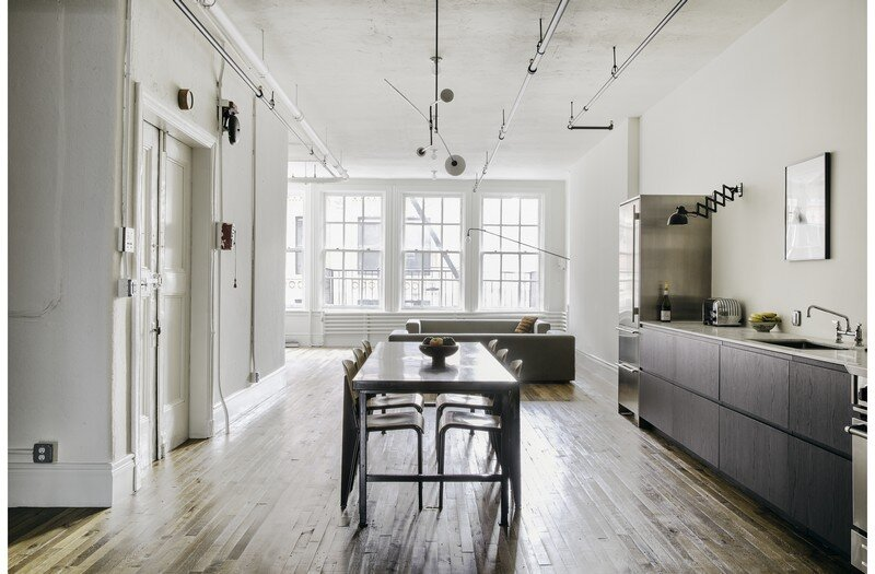 Two-Bedroom Home for a Family of Three / Bond Street Loft 2