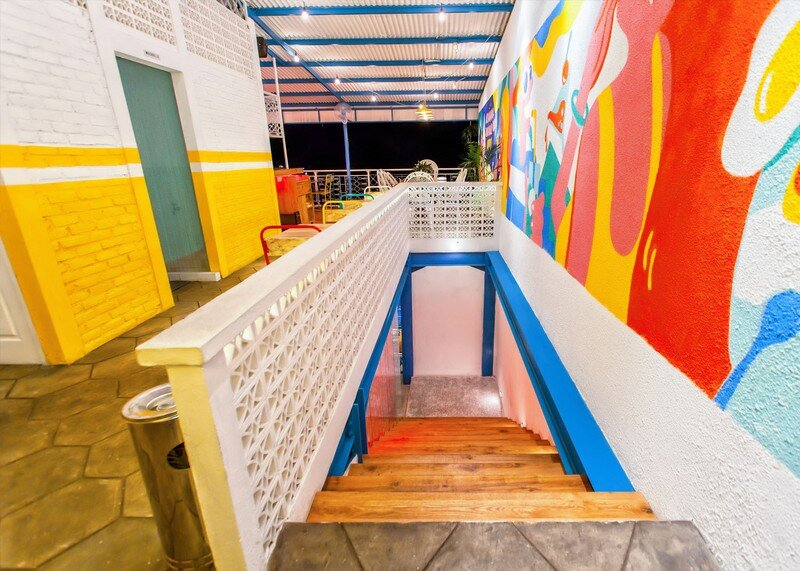 Yelo Eatery - Pop Interiors with Modern Industrial Vibe 12