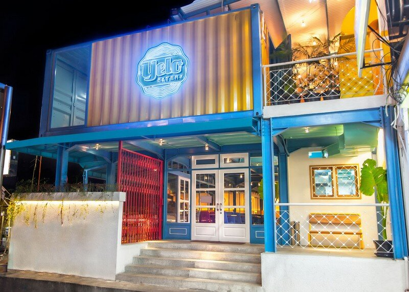 Yelo Eatery - Pop Interiors with Modern Industrial Vibe 14