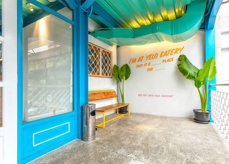 Yelo Eatery - Pop Interiors with Modern Industrial Vibe 1